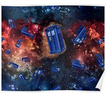 Police Box in Space Poster