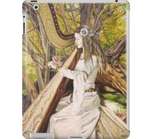 Harpist of the Valley iPad Case/Skin
