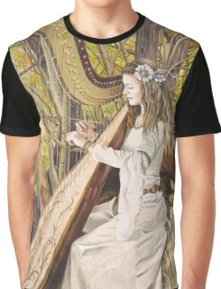 Harpist of the Valley Graphic T-Shirt