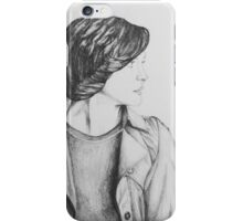 Regina Mills Fan Art Drawing iPhone Case/Skin