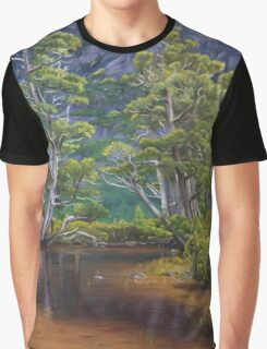 Artist's Pool Graphic T-Shirt