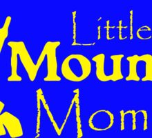 Little Mountain Momma in Blue and Yellow Sticker