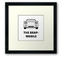 RX-7 - The Brap-mobile Framed Print
