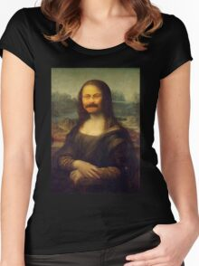 The Mona Swanson Women's Fitted Scoop T-Shirt