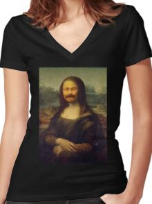 The Mona Swanson Women's Fitted V-Neck T-Shirt
