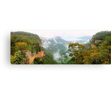 Misty Jamison Valley panorama Canvas Print