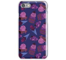 sweet ice cream dessert iPhone Case/Skin