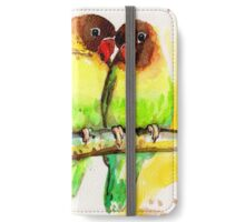Masked Lovebird Pair iPhone Wallet/Case/Skin