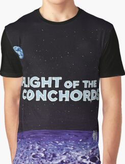 Flight of the Conchords - The Distant Future Graphic T-Shirt