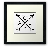 Alec Lightwood (AGL initials) - The Mortal Instruments Framed Print