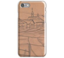 GRIGORIEV, BORIS ()  Village Landscape,  iPhone Case/Skin