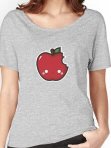 Kawaii apple Women's Relaxed Fit T-Shirt