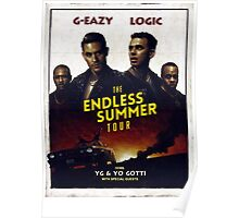 G-Eazy + Logic The Endless Summer Tour Poster