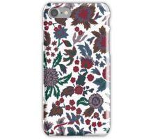Flower Background handmade iPhone Case/Skin