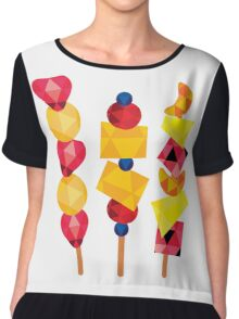 fruit pops Chiffon Top