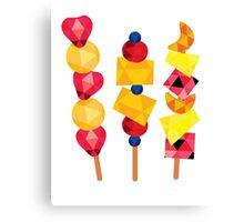 fruit pops Canvas Print