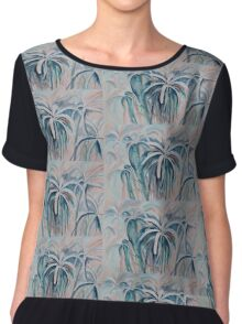 Spider Lilies Chiffon Top