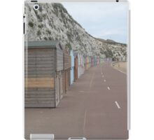 Beach huts ... Again iPad Case/Skin