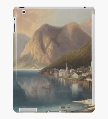 Gustav Barbarini View on Hallstatt  iPad Case/Skin