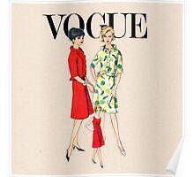 Vogue '62 Poster