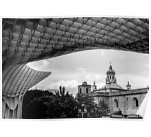 Metropol Parasol - Seville  Poster