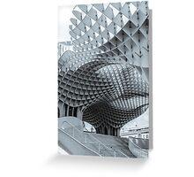 Metropol Parasol - Seville Greeting Card