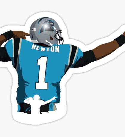 Cam Newton TD Celebration Sticker