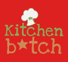 KITCHEN B*TCH with chef cooking hat One Piece - Long Sleeve