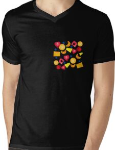 fruit gems Mens V-Neck T-Shirt