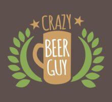 Crazy Beer Guy One Piece - Short Sleeve