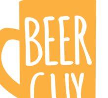 Crazy Beer Guy Sticker