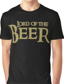 Lord of the BEER Graphic T-Shirt