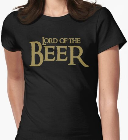 Lord of the BEER Womens Fitted T-Shirt