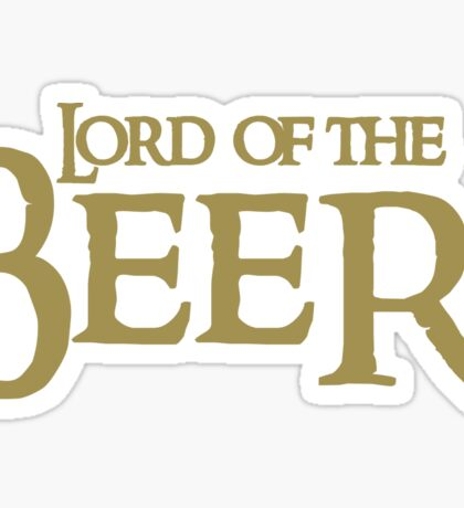 Lord of the BEER Sticker