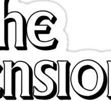 The Pensioner Sticker