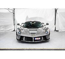 Ferrari LaFerrari in Grey Photographic Print