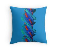 Abstract  440B Throw Pillow