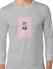Pink Hello Angel Long Sleeve T-Shirt