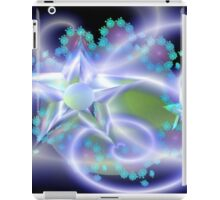 Crystal Star Flowers iPad Case/Skin