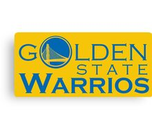 Goldes State Warriors for NBA 2016 Canvas Print