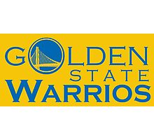 Goldes State Warriors for NBA 2016 Photographic Print