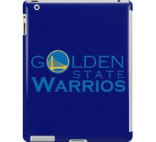 Goldes State Warriors for NBA 2016 iPad Case/Skin