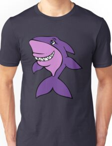 Purple Shark  Unisex T-Shirt