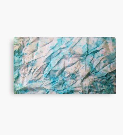crumpled silk Canvas Print