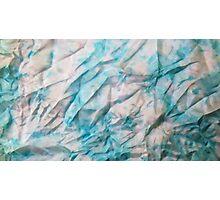 crumpled silk Photographic Print