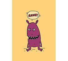 Rawr! Monster Photographic Print