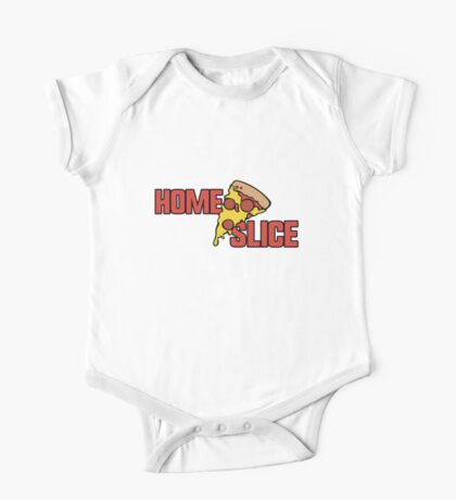 Home slice of Pizza One Piece - Short Sleeve