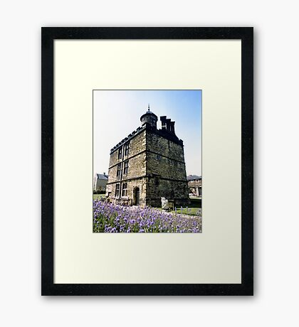 Turret Lodge, Sheffield Manor House Framed Print
