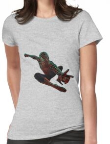 Spiderman is Funky Womens Fitted T-Shirt