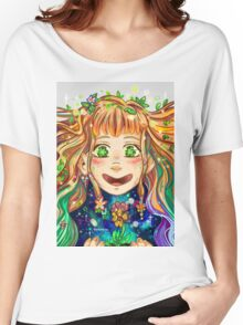 Flower Pixie  Women's Relaxed Fit T-Shirt